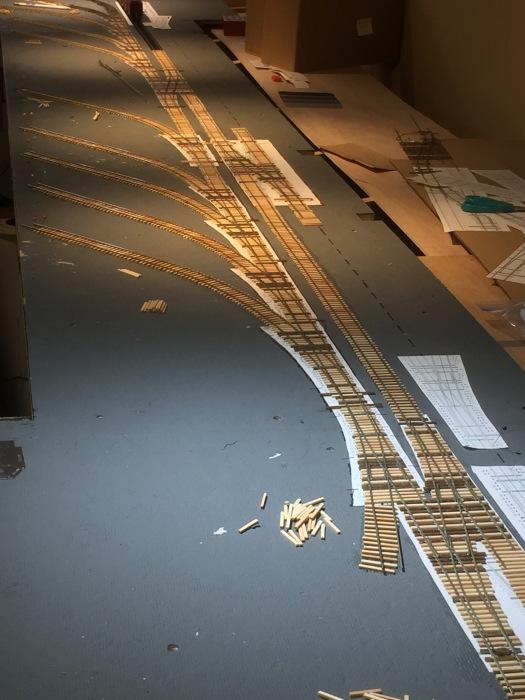 Trackwork along The Embarcadero